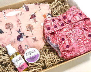 Baby care pack - Tree Time Pink