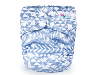 Cloth Nappy set Wanderlust EcoNaps