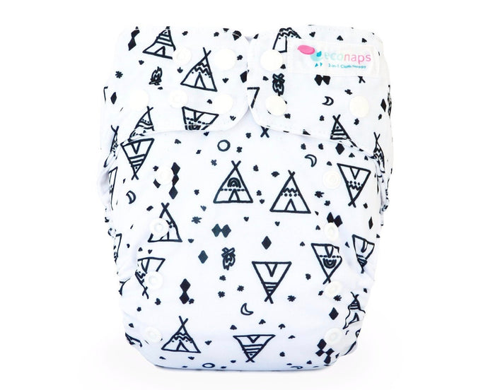 Cloth Nappy set Tipi Dreaming EcoNaps
