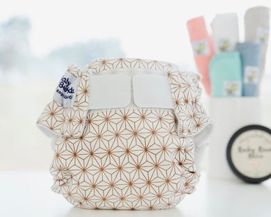 Cloth Nappy with Velcro Constellation Baby BeeHinds