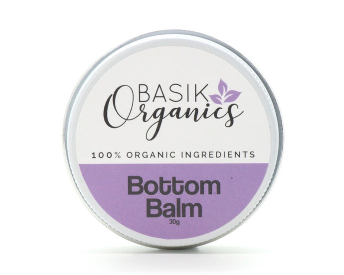 Bottom Balm 30g Basik Organics