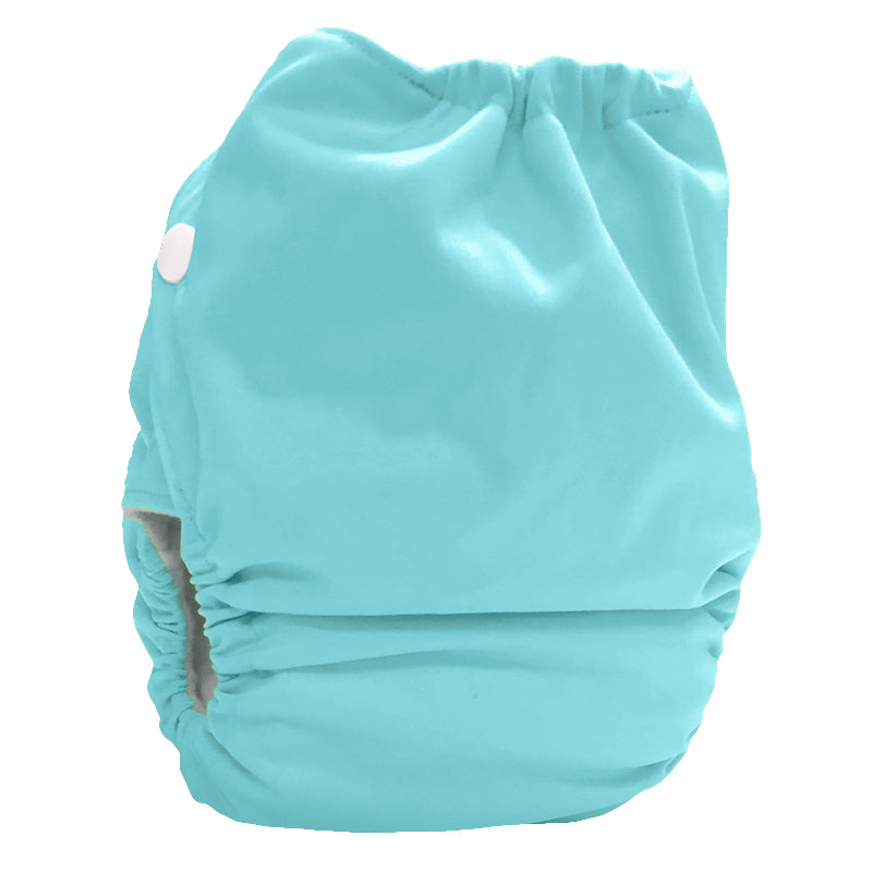 Bubblebubs Candie Minky Cloth Nappy Set Icy Mint