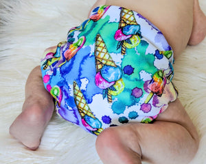Baby Bare Bare Cub AIO Cloth Nappy Summer Treats