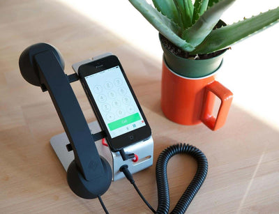 POP Desk With Retro Handset
