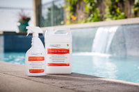 Pool tile cleaner and sealer