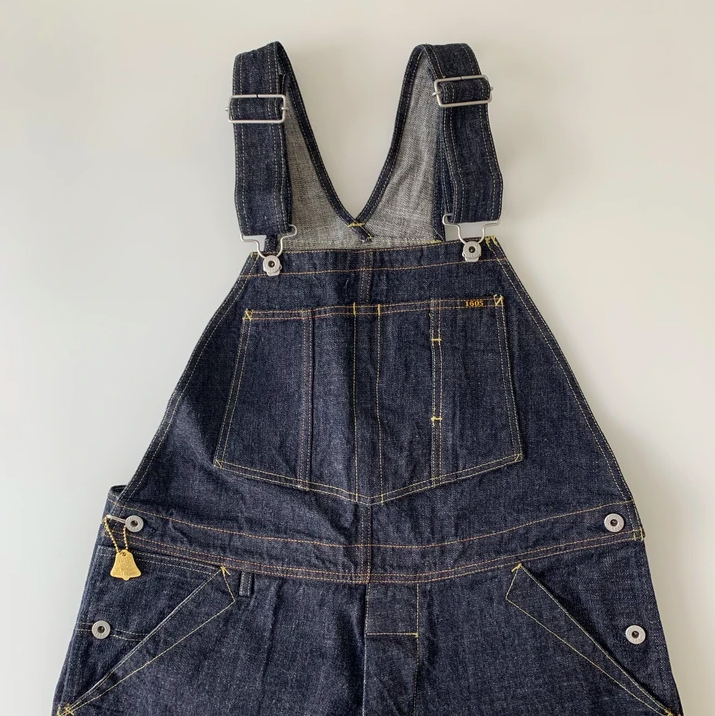 TROPHY CLOTHING - 1603 Carpenter Overall Dirt Denim