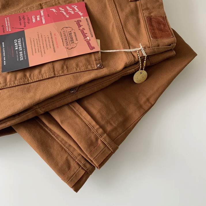 TROPHY CLOTHING - 1805 Standard Selvedge Brownie Duck