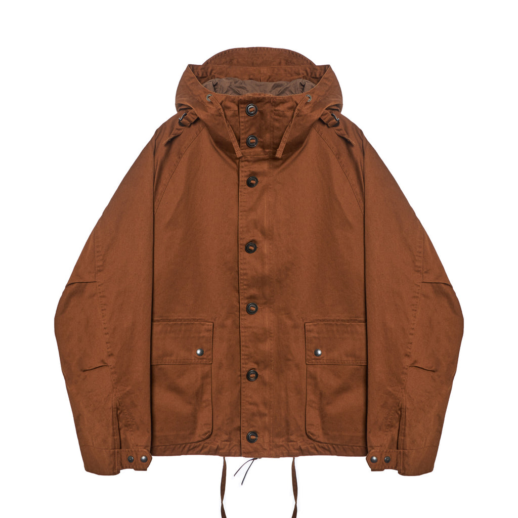 Coming Soon: Foul Weather Parka in Brown Backsatin