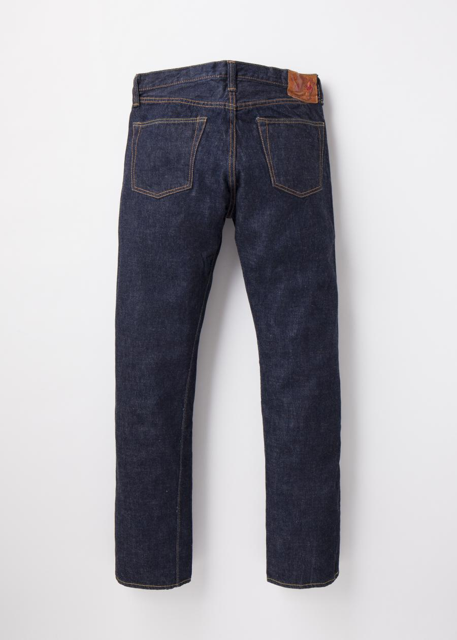 1108W 13.75oz. Selvedge Narrow Straight Denim - One Wash