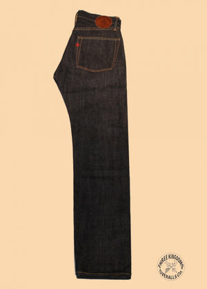 Three Kingdoms Overalls - 359601 Standard Straight Selvedge Denim Pants