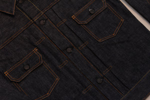 Premium TK992C Natural Indigo Selvedge Denim Type II Jacket