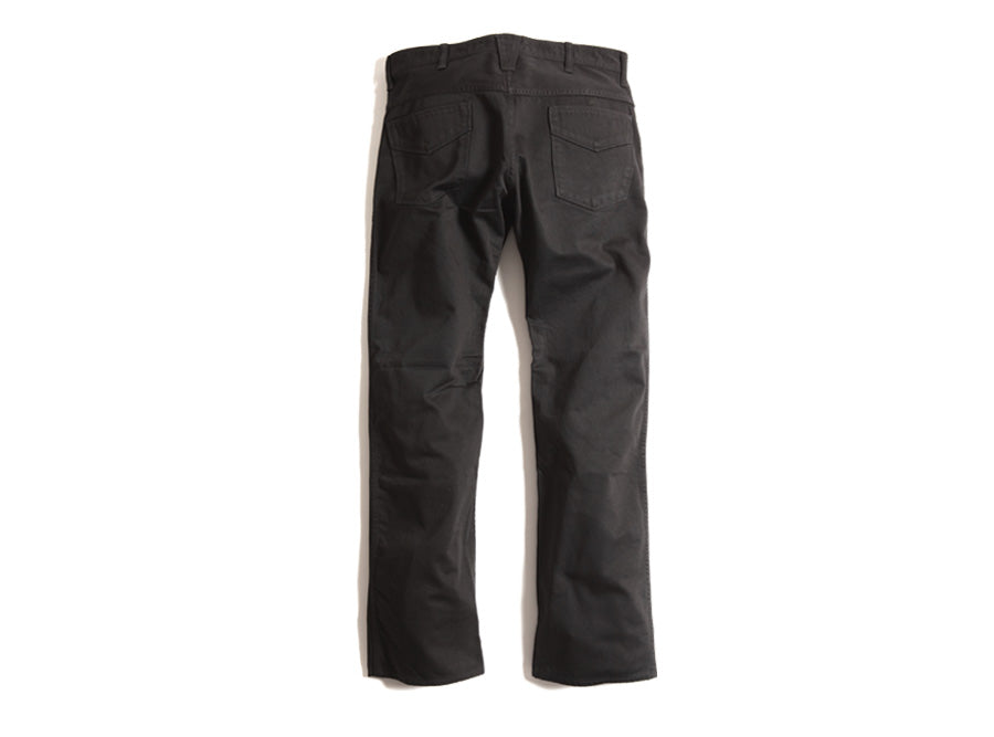 Mamba Cultic Cotton Sateen Trousers in Black - One Wash