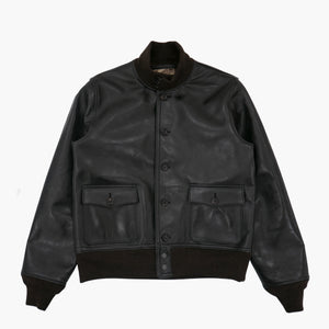 Aniline Horse A-1 Jacket in Black
