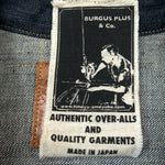 14.5oz Natural Indigo Type-2 Selvedge Denim Jacket
