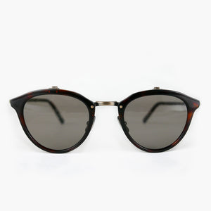 KJ-23 Sunglass in Red Demi - Biodegradable Cellulose Acetate and Titanium