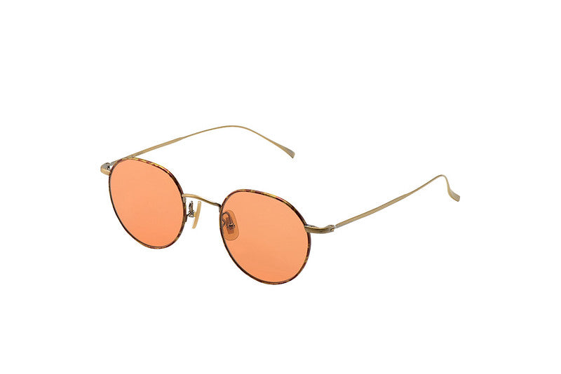 KV-81 Sunglasses in Demi Antique Gold - Biodegradable Cellulose Acetate and Titanium