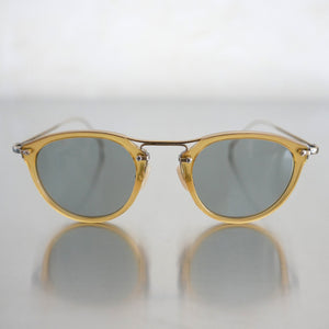 KVS-06 Sunglass in Yellow - Biodegradable Cellulose Acetate and Titanium