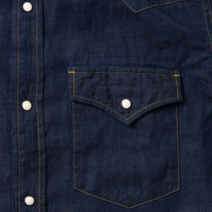 4894 - 8oz. Selvedge Denim Western Shirt