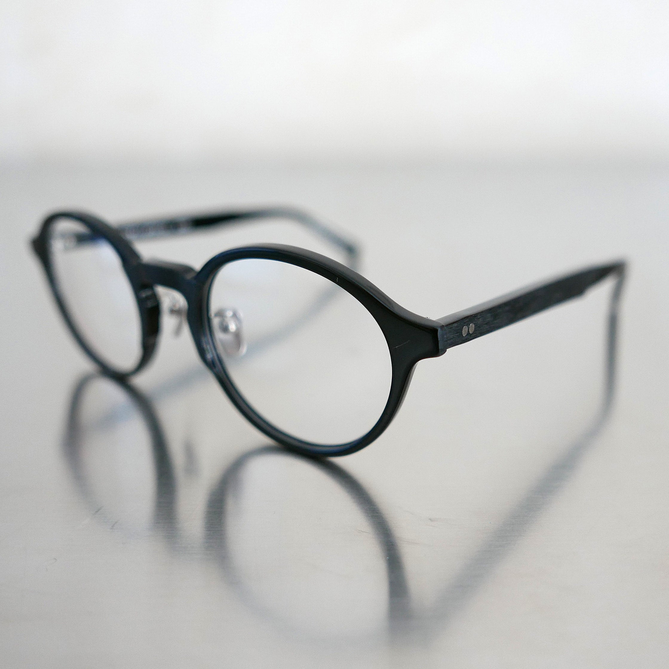 KJ-08 in Black  - Biodegradable Cellulose Acetate and Titanium