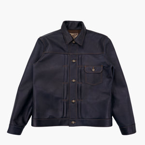 Y'2 Leather - Indigo Horse 1st Type G Jacket
