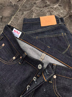 ONI x Lin Collaboration - 14oz 113KD - Relax Tapered with Lin Stitch