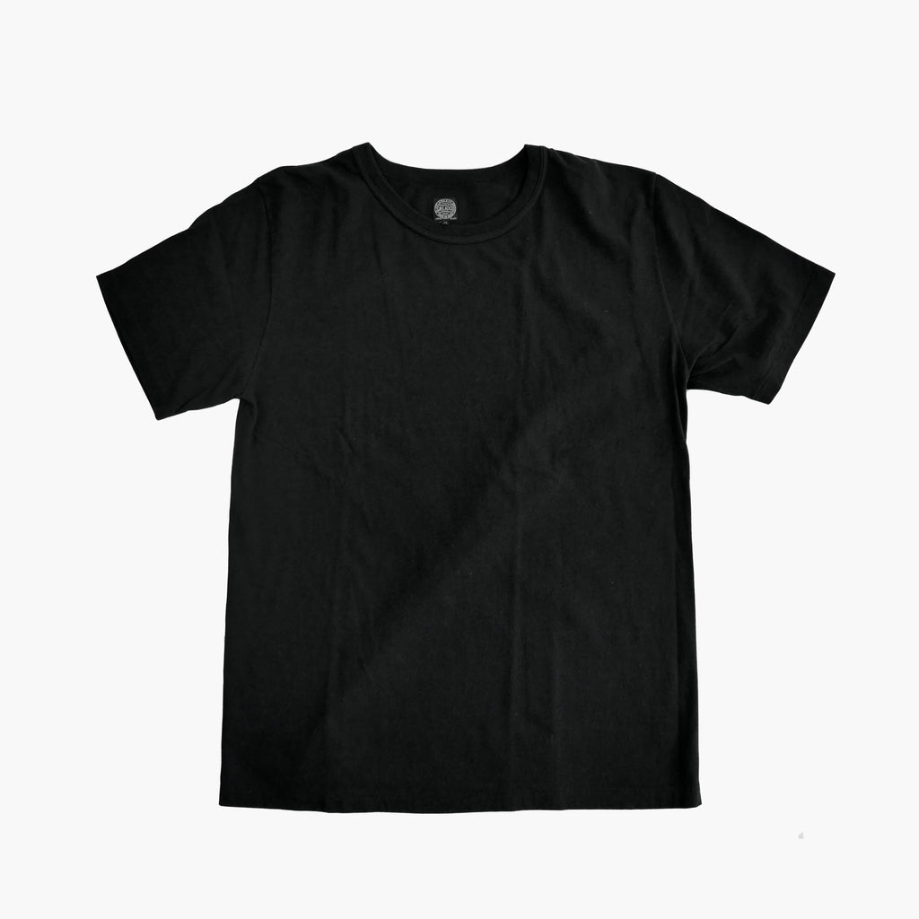 Vintage Loopwheel Tee in Black