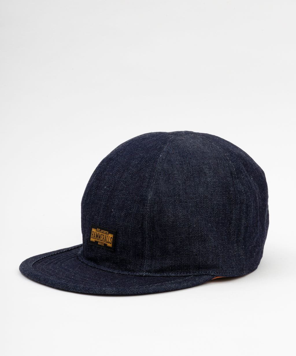 Ragtime Chopper Cap - Denim