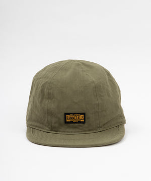 Coming Soon: Ragtime Chopper Cap - Army Green Herringbone