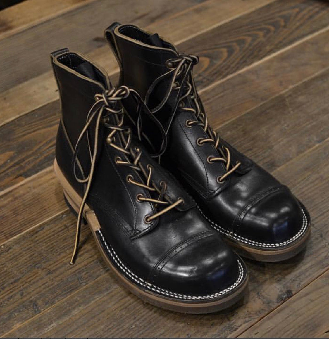 Pre-Order: ROOTS Boot in Black Horse Butt