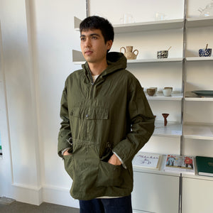 Soundman - Brush Anorak Parka in Forest Green