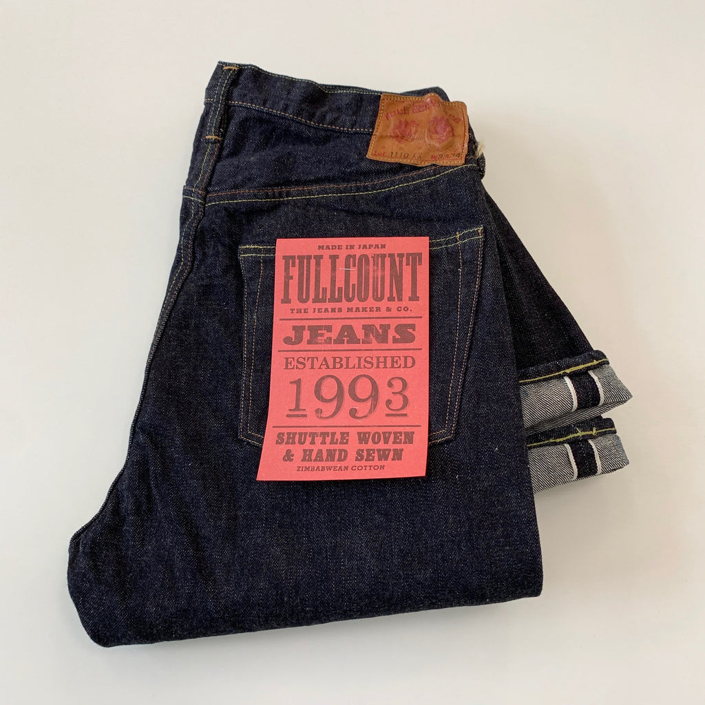 1110XXW 15.5oz Heavy Selvedge Tapered Denim