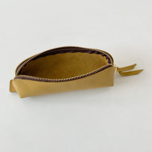 Horse Hide Pen Case in Camel (BG-15)
