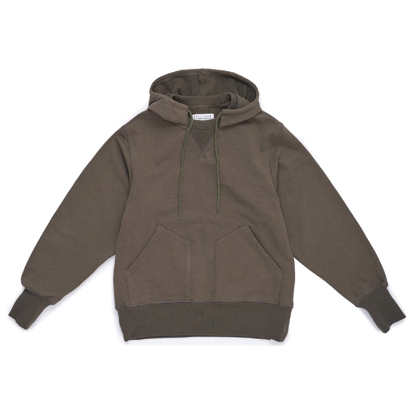 Coming Soon: Hooded Sweatshirt in Olive