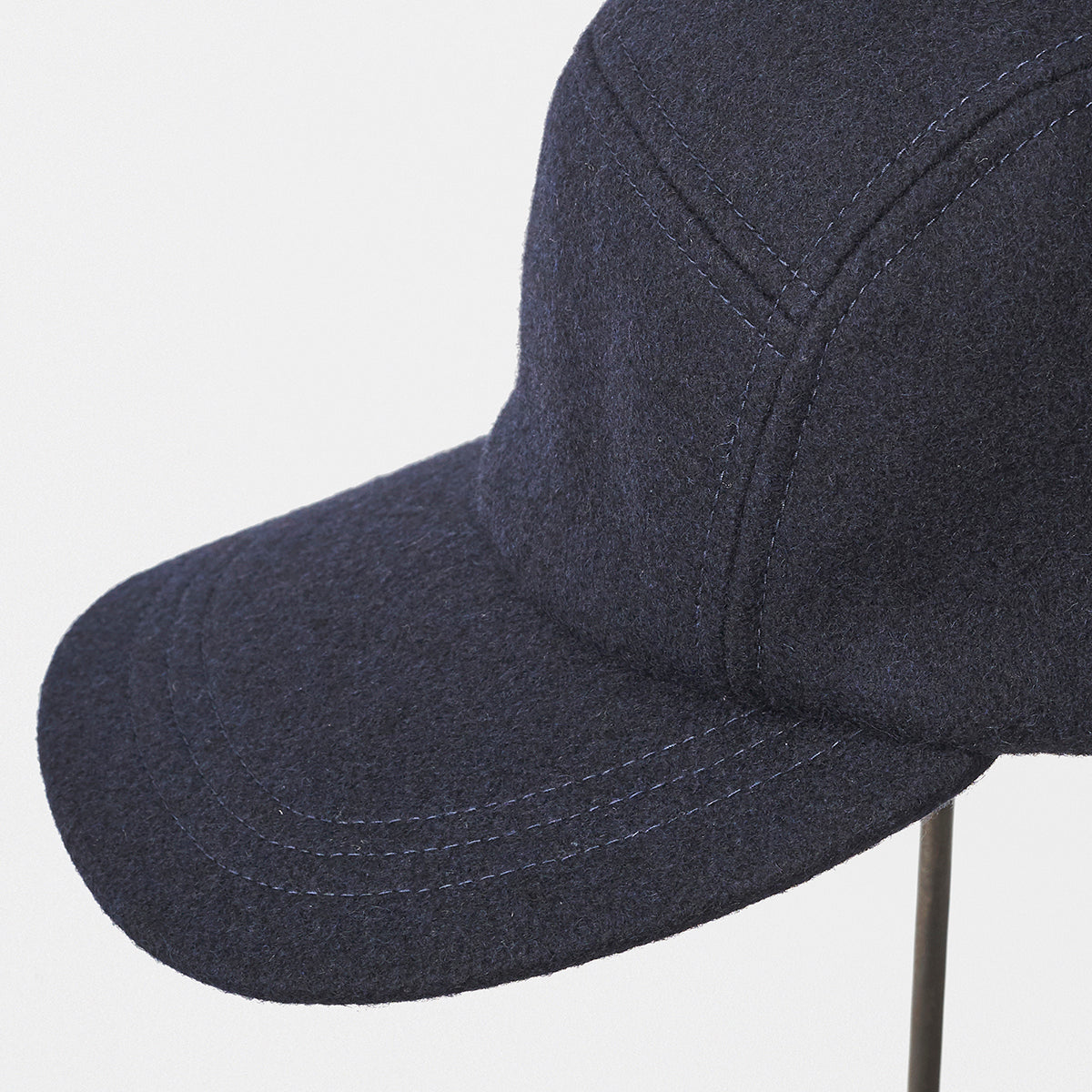 Melton Jet Cap in Navy