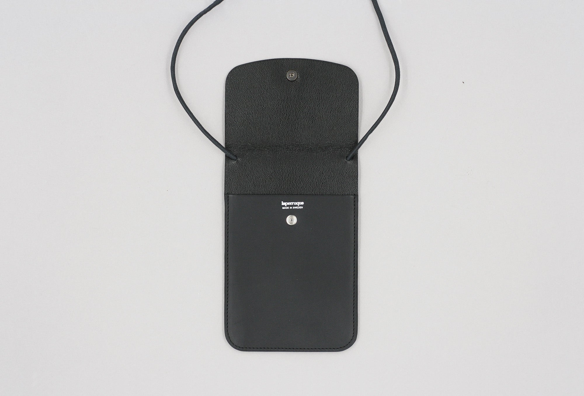 Black Baranil Neck Pouch