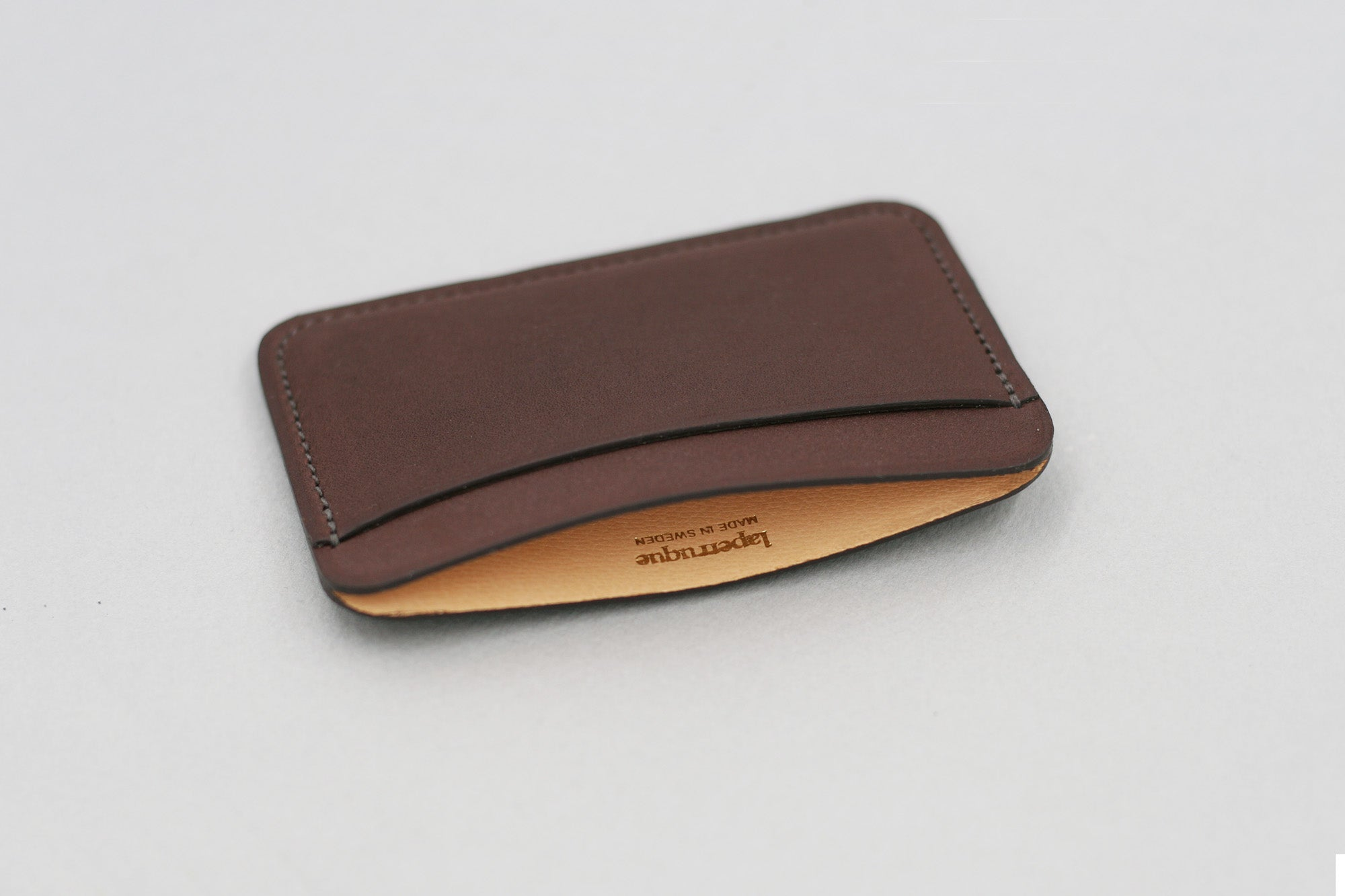 Chocolate Baranil Card Holder