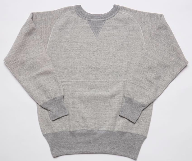 Pre-Order: Wakayama Freedom-Sleeve Loopwheel Sweatshirt in Grey