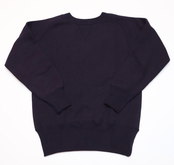 Pre-Order: Wakayama Freedom-Sleeve Loopwheel Sweatshirt in Navy