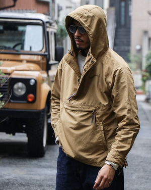 Alpine Anorak in Beige