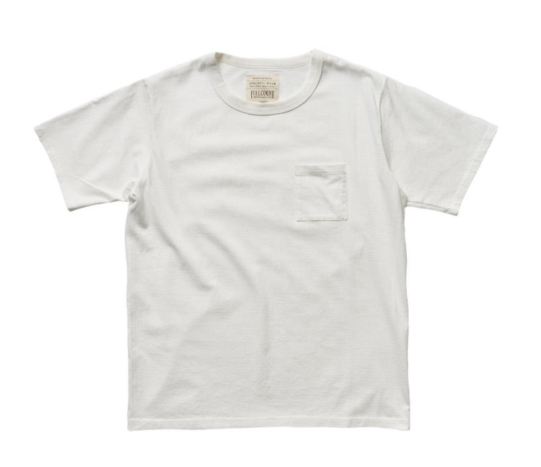 Heavyweight Pocket T-Shirt in White
