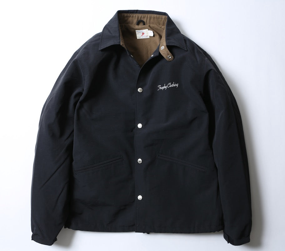Classic Logo Warm Up Jacket in Black