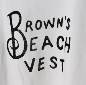 Ltd. Ed. -  Brown's Beach Tee II in White