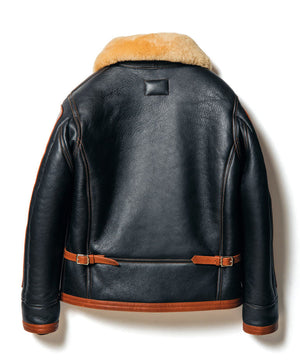 Colomer Mouton in Black x Brown (Type ANJ-04) Jacket