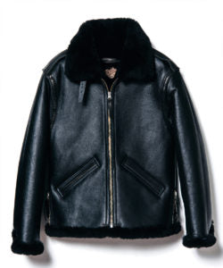 Colomer Mouton in Black (Type B-6) Jacket