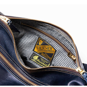 Coming Soon: Horsehide Shoulder Bag in Indigo Horse (BG-02)