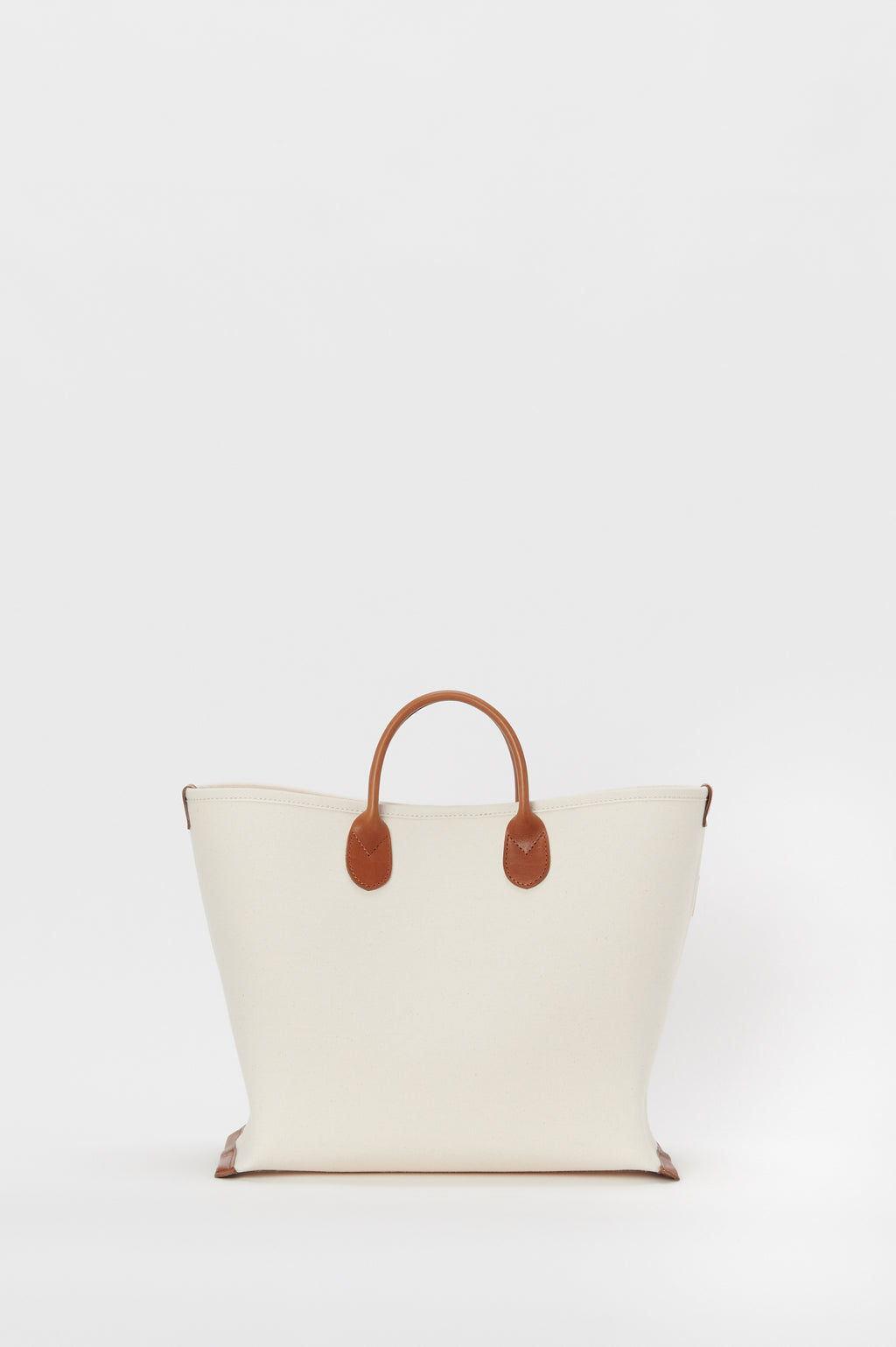 Bonding Canvas Bag M in Natural / Brown
