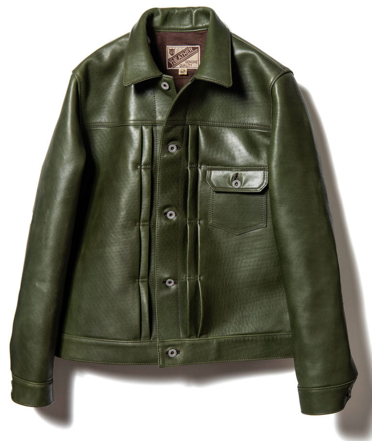 Eco Horse Type I G Jacket in Olive (EB-140)