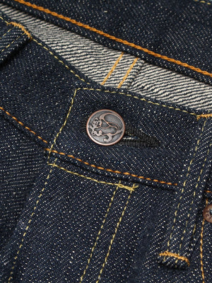 "EHT - ""Earth"" High Tapered 18oz Greencast Selvedge Jeans"