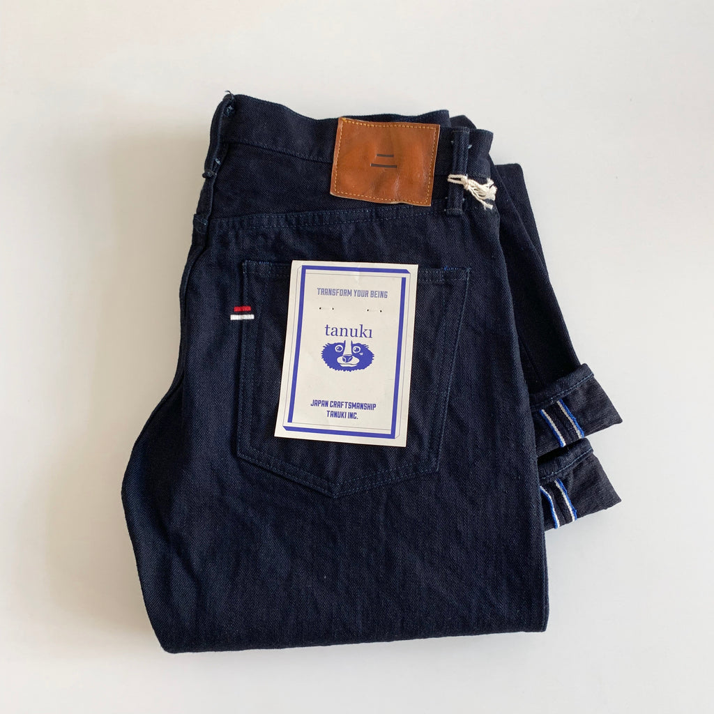 IDR - 15oz Double Indigo Selvedge Regular Straight Fit Jeans