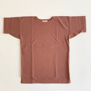 US007 Crew Neck Short Sleeve in Rosewood